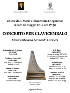 concerto clavicembalo